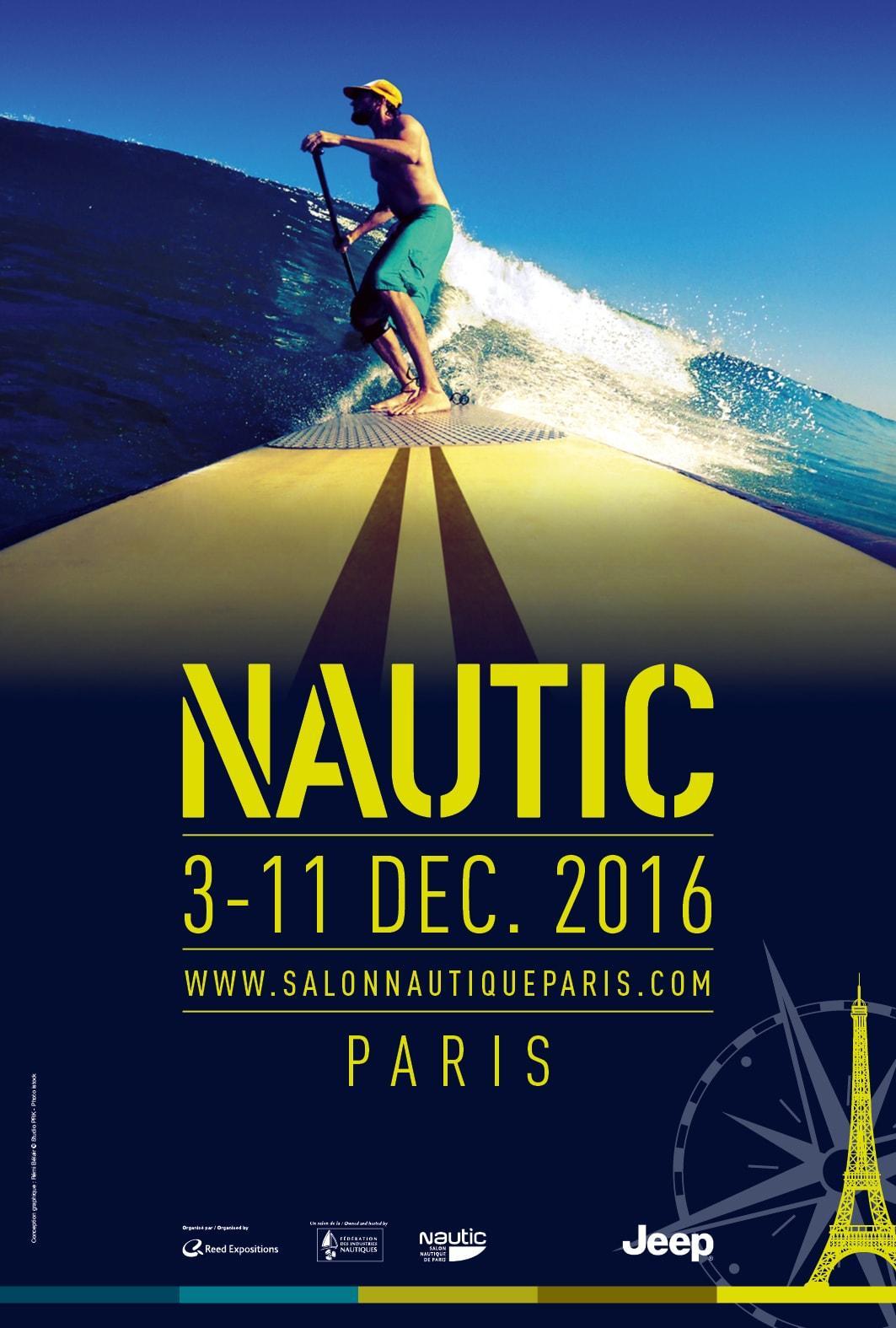 Salon Nautic Paris décembre 2016