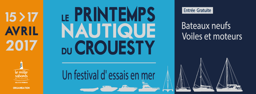 Affiche Printemps Nautique du Crouesty 2017