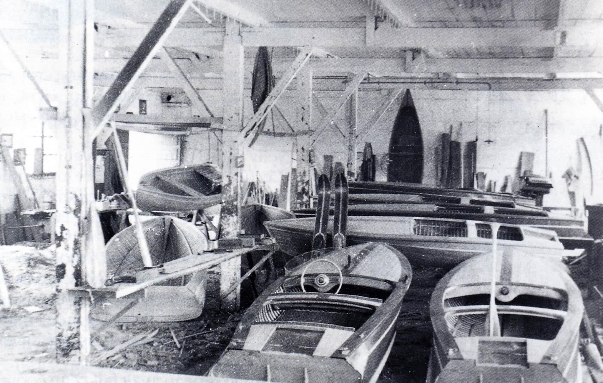 premier atelier fabrication bateau jeanneau