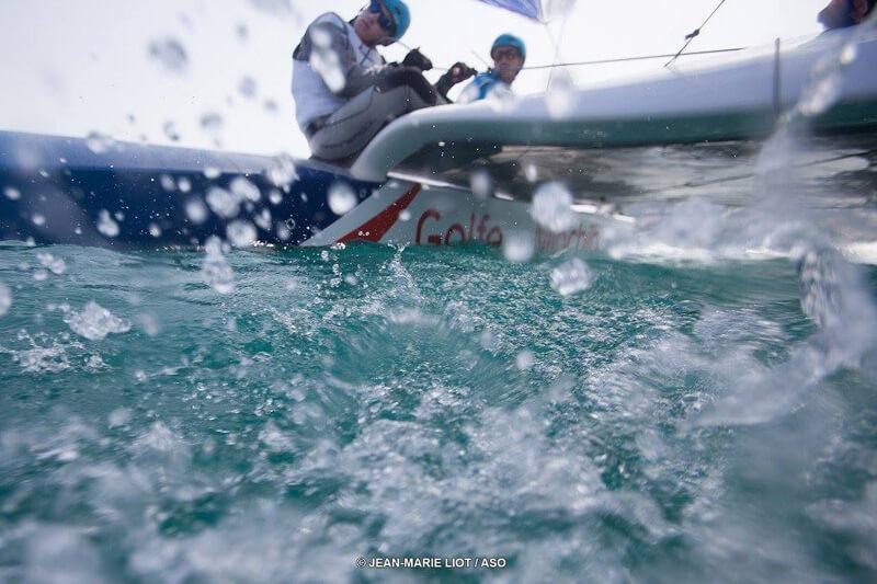 tour de France à la voile Team Lorina Golfe du Morbihan