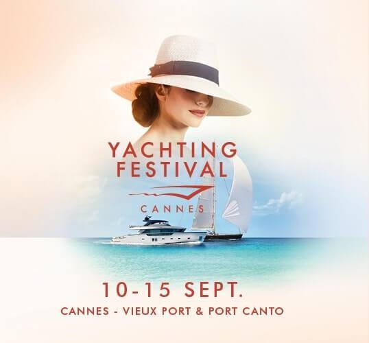 Yachting Festival de Cannes du 10 au 15 septembre