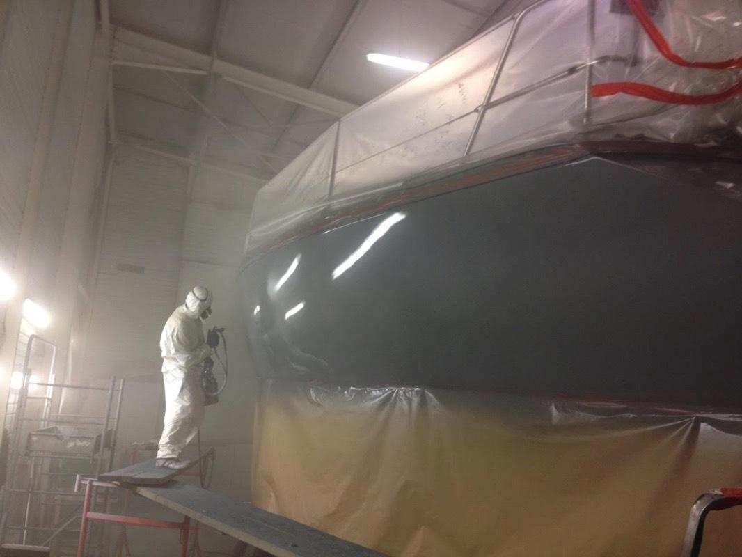 Peinture bateau Morbihan