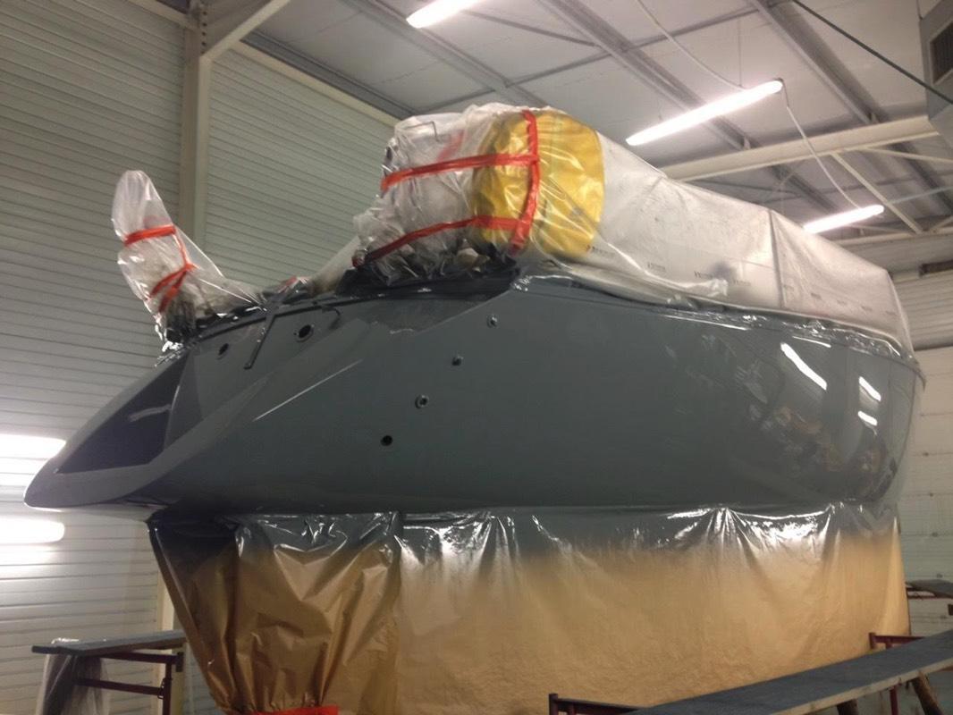 Peinture bateau chantier naval