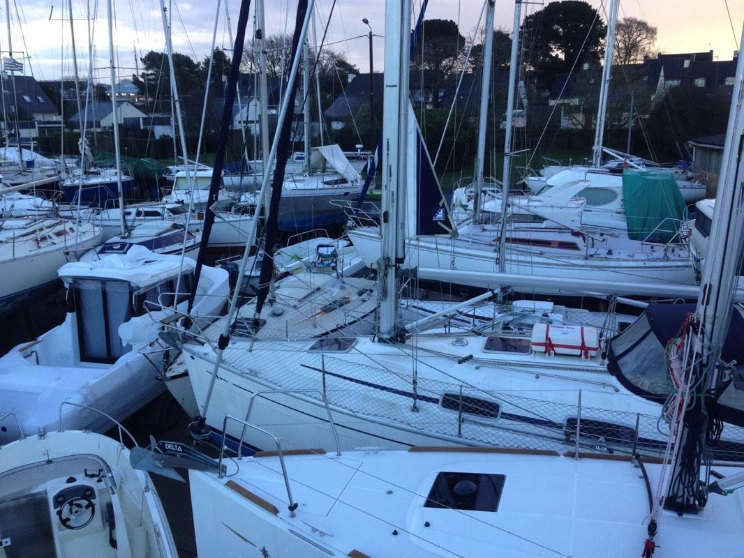 Hivernage bateau Vannes