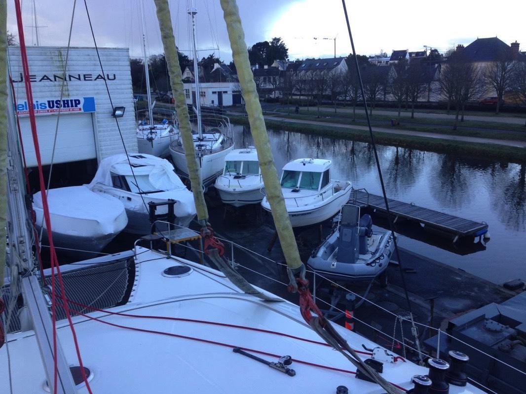 Place parking bateau Morbihan