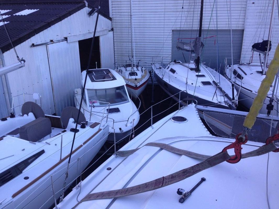 Hivernage bateau 56