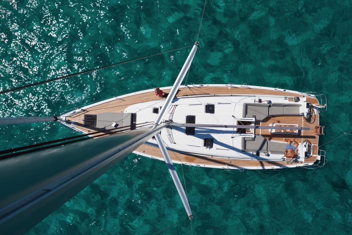 Vue panoramique bateau
