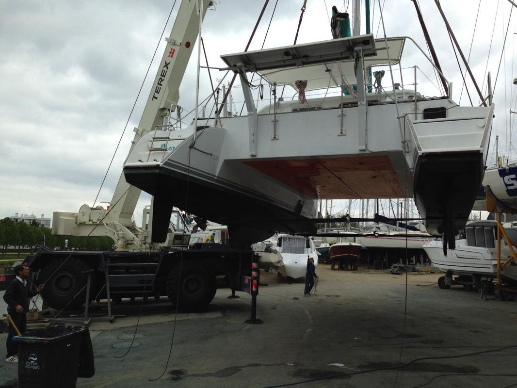 Manutention chantier nautique Morbihan