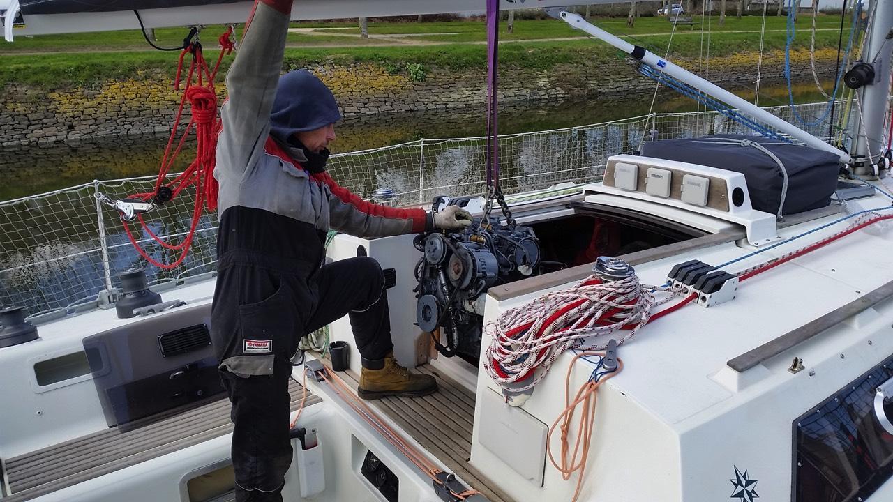 Réparation bateau 56