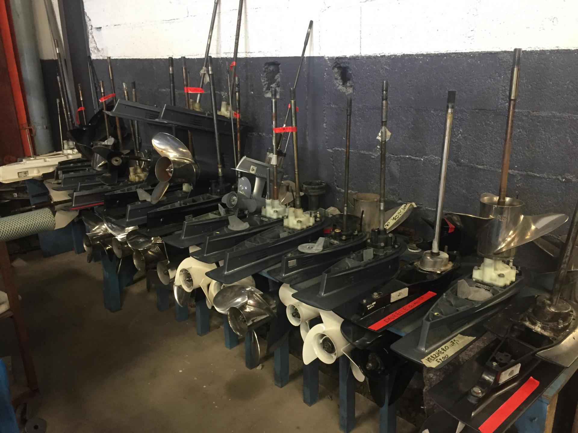 Rangement embases atelier