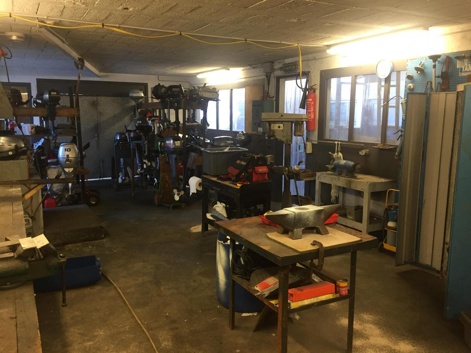 Atelier de mécanique