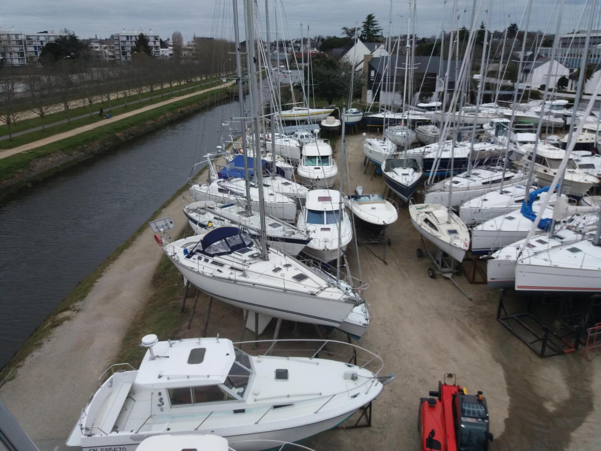 chantier naval west yachting vannes stockage de bateau