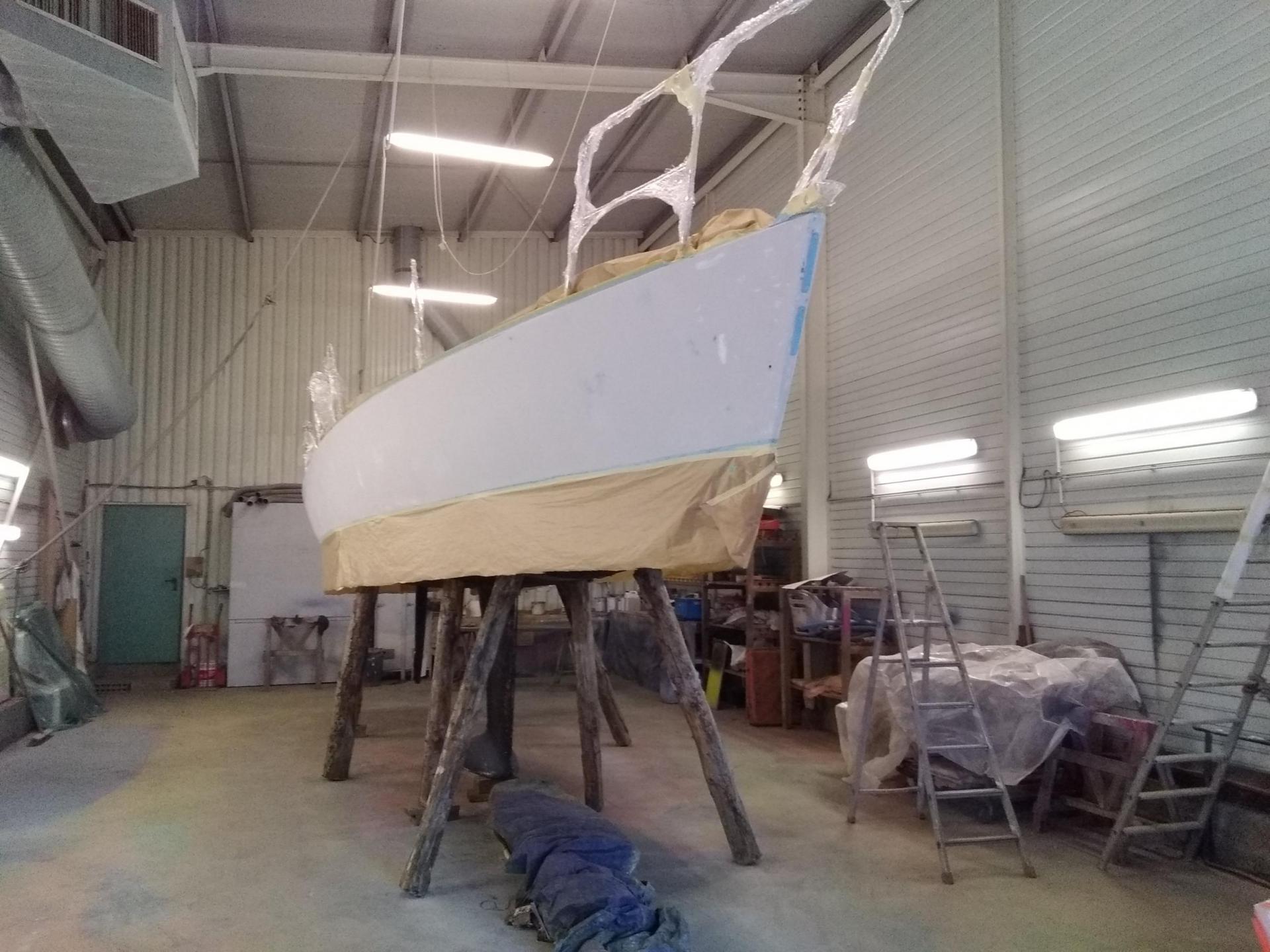 peinture de bateau morbihan vannes west yachting