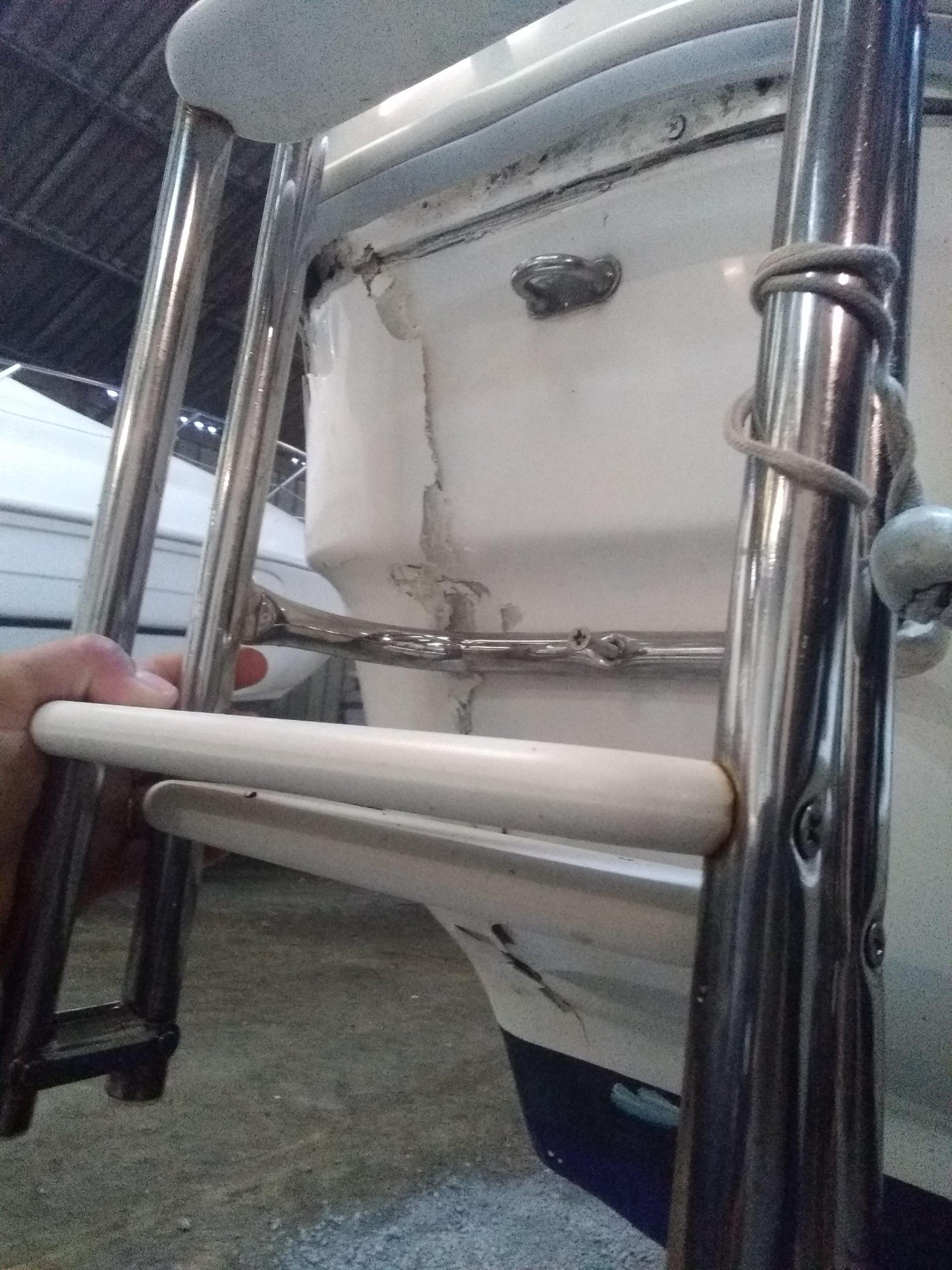 Devis pour réparation polyester vannes et le Crouesty