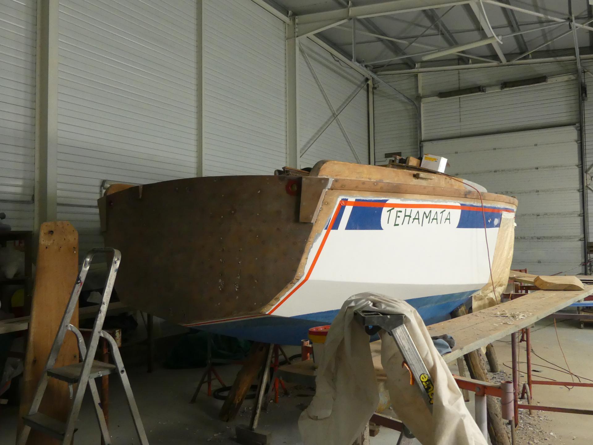 Réparation bateau bois à Vannes