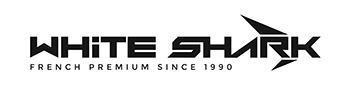 Logo marque bateau White Shark