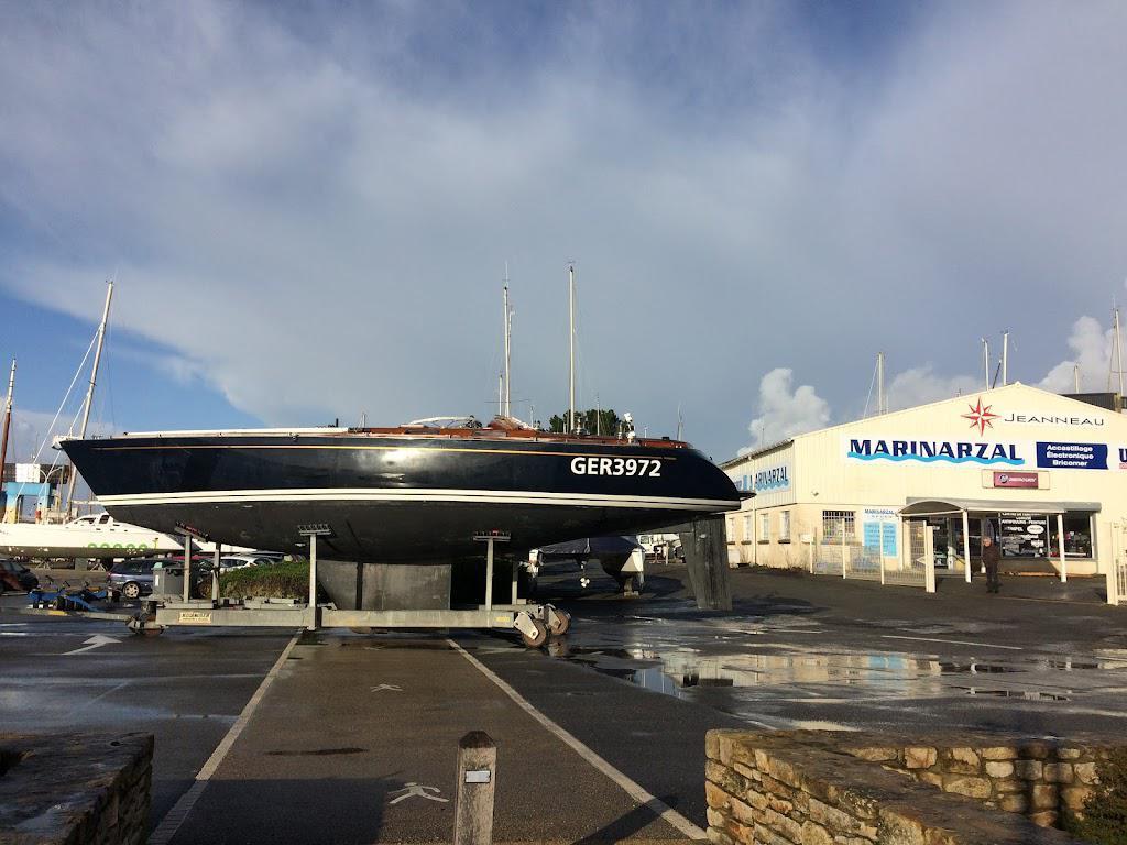 maintenace bateau naval arzal